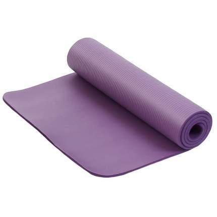 Коврик для фитнеса и йоги Larsen NBR фиолетовый р183х61х1,5см