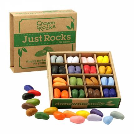 Мелки-камушки восковые набор 64 шт Crayon Rocks CREco