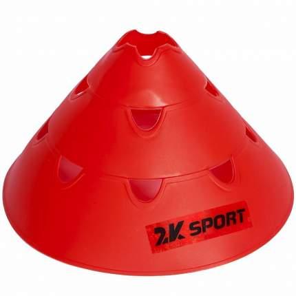 Конус тренировочный 2k Sport 127907 красный