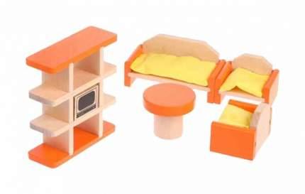 """Набор деревянной мебели """"Гостиная"""", 9 предметов"""