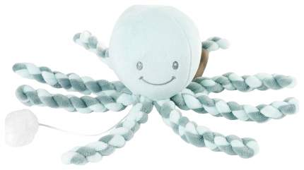 Игрушка мягкая Nattou Musical Soft toy Lapidou Octopus coppergreen – mint