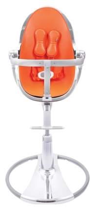 Стульчик для кормления BLOOM Fresco chrome SE серебро, вкладыш оранжевый