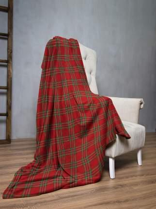 Плед флис 145х200 Шотландская клетка IQ Komfort 8043027