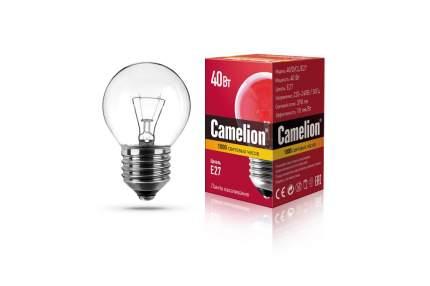 Лампа накаливания Camelion шар прозрачный 40W Е27