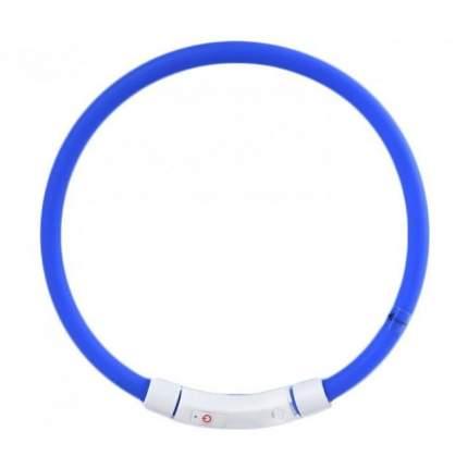 Ошейник для собак Xiaomi Little Beast Star Pet Glowing Collar, светящийся, синий, до 50 см
