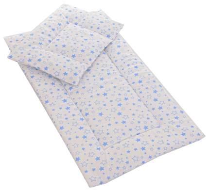 Комплект в коляску Bambola, для мальчика (матрасик, подушка)