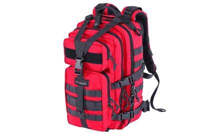 Тактический рюкзак Kiwidition Kahu (красный/черный)