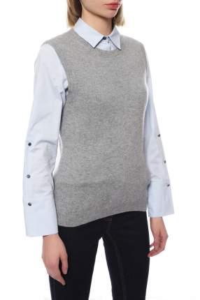 Топ женский Mir cashmere 3-16-005WE серый 4XL