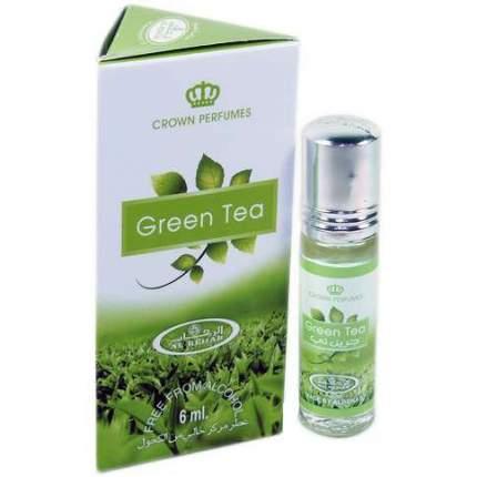 Масло парфюмерное Al Rehab Green Tea, 6 л