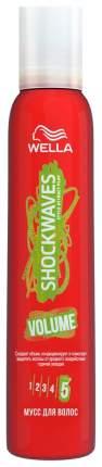 Мусс для волос Wella Shockwaves Volume 200 мл