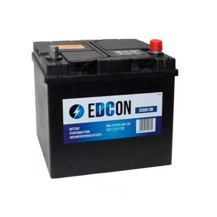 Аккумуляторная батарея 19.5/17.9 Евро 60ah 510a 232/173/225 EDCON DC60510R