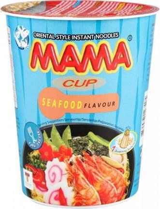 Лапша быстрого приготовления тайская Mama со вкусом морепродуктов 70 г