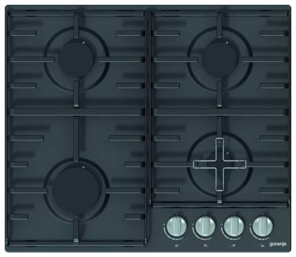 Встраиваемая варочная панель газовая Gorenje G640ZMB Black