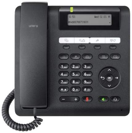 Телефон SIP Unify OpenScape CP200 Черный (L30250-F600-C426)