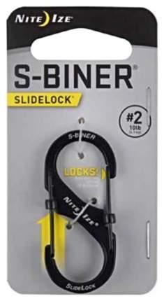 Карабин Nite Ize S-Biner SlideLock #2 LSB2-01-R3 Black