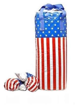 Боксерский набор детский Лапландия Американский флаг 29459