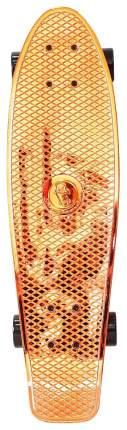 "Скейтборд Y-Scoo Big Fishskateboard Metallic 27"" 402H-O с сумкой Orange Black"