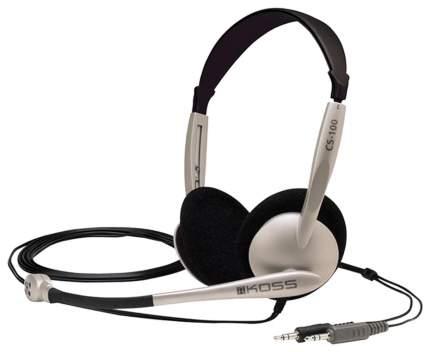 Гарнитура KOSS CS-100 Silver/Black