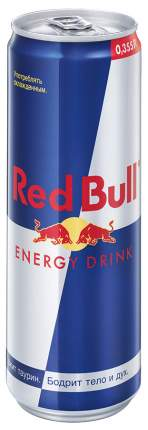 Напиток энергетический Red Bull газированный безалкогольный 0.355 л упаковка 24 штуки