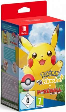 Игра Pokemon Let's Go! Pikachu!+Игровой контроллер Poke Ball Plus для Nintendo Switch