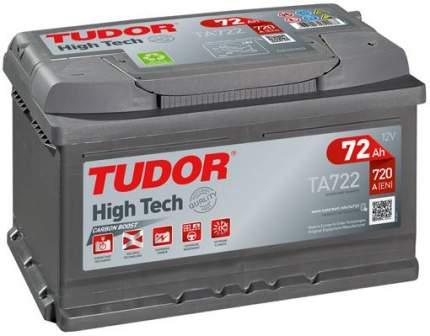 Аккумулятор автомобильный TUDOR TA722 72 Ач