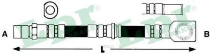 Шланг тормозной Lpr 6T47703