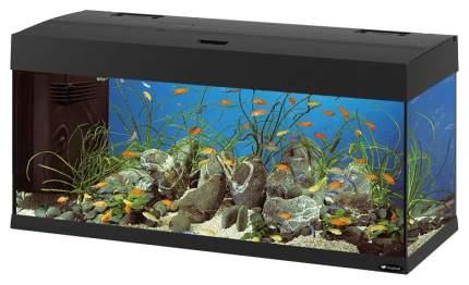 Аквариум для рыб Ferplast Dubai, черный, 190 л
