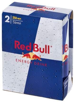 Напиток Red Bull безалкогольный газированный жестяная банка  0.25 л 2 штуки в упаковке