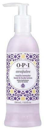 Лосьон для рук O.P.I Avojuice Vanilla&Lavender 250 мл