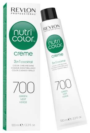 Краска для волос Revlon Professional Nutri Color Creme 700 Зеленый 100 мл