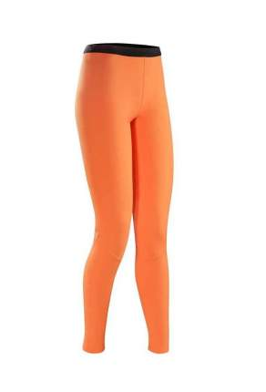 Кальсоны Arcteryx Phase AR Bottom 2016 женские оранжевые, L