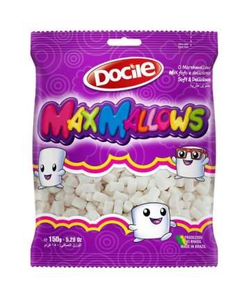 Зефир Maxmallows Mini ваниль белые трубочки 150 г