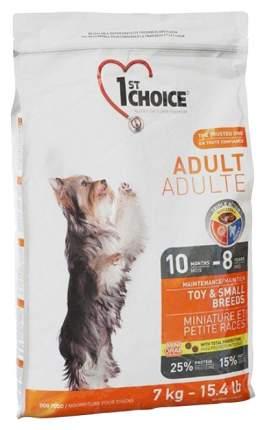 Сухой корм для собак 1st choice Adult Toy&Small Breeds, курица, 7кг