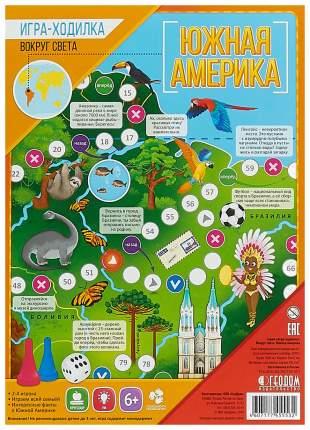 Семейная настольная игра Геодом Вокруг света Южная Америка
