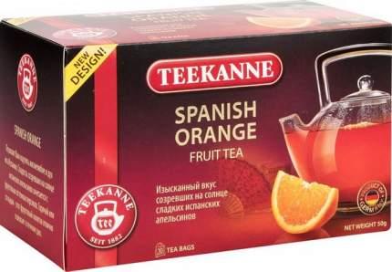 Чай фруктовый Teekanne spanish orange 20 пакетиков