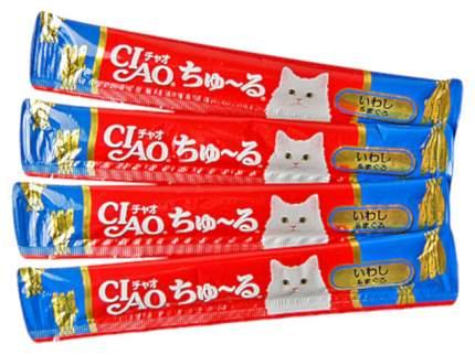Лакомство для кошек Premium Pet Japan Иваси и желтоперый тунец 56 г SC-145