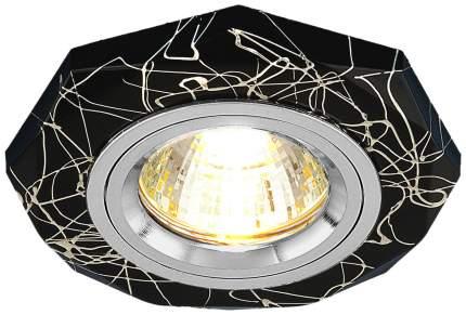 Встраиваемый точечный светильник Elektrostandard 2040 MR16 BK/SL Черный/Серебро a031540