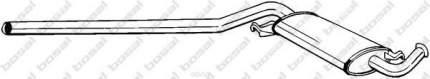Глушитель выхлопной системы Audi A6 94-97 bosal 285513