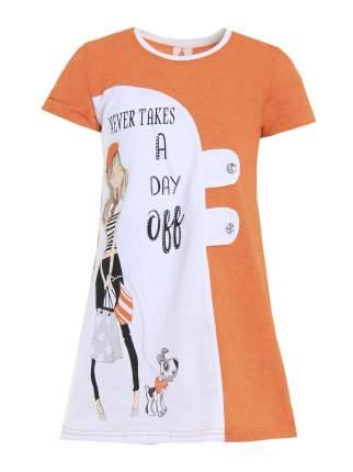 Платье детское Ивашка оранжевое р. 104