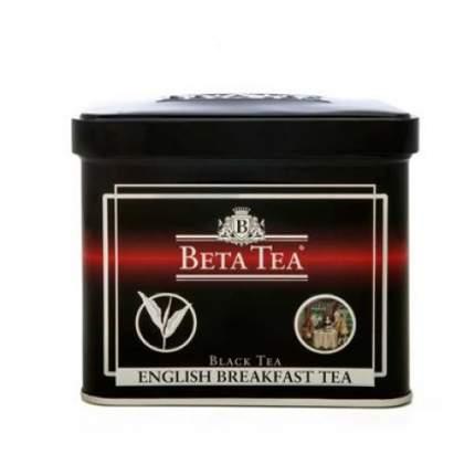 Чай черный листовой Beta Tea английский завтрак 100 г
