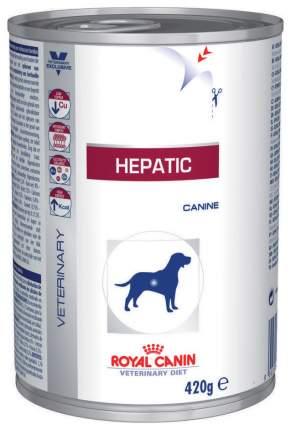 Консервы для собак ROYAL CANIN Hepatic, курица, 420г