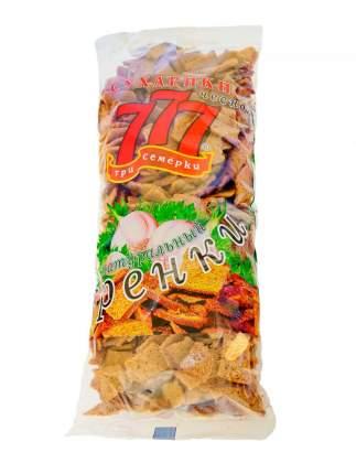 Сухарики-гренки Три Семерки ржано-пшеничные с чесноком 500 г
