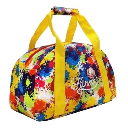Спортивная сумка Polar 5997 желтая