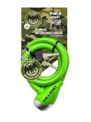 Велозамок Vinca Sport 12 x 1000 мм зеленый