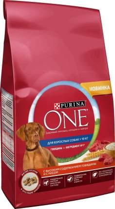 Сухой корм для собак Purina One Medmaxadl, с говядиной и рисом, 3,8 кг