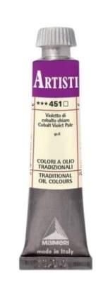 Масляная краска Maimeri 451 кобальт фиолетовый бледный 20 мл
