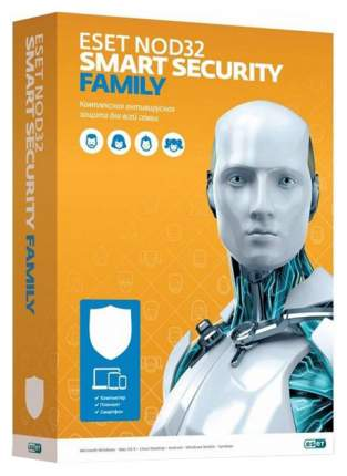 Антивирус Eset NOD32-ESM-RN(BOX)-1-3