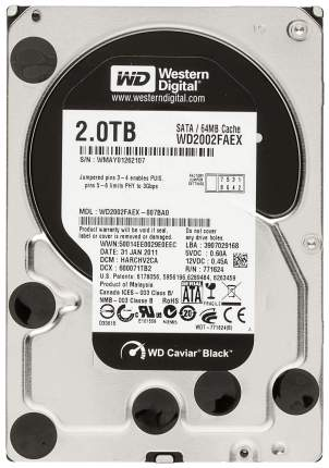 Внутренний жесткий диск Western Digital 2TB (WD2002FAEX)