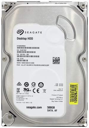 Внутренний жесткий диск Seagate Desktop BarraCuda 500GB (ST500DM002)