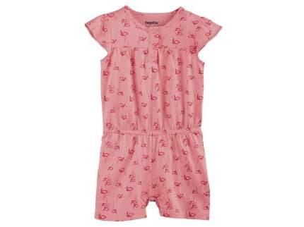 Комбинезон для девочки Lupilu р.74-80 розовый